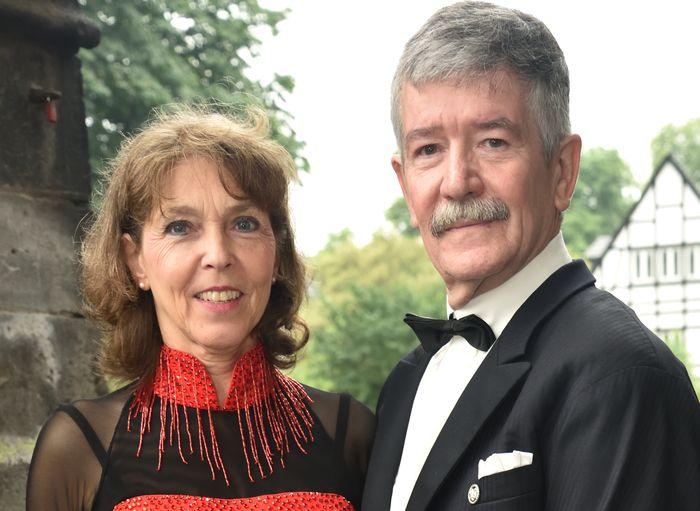 Trainerpaar beim Tanzsport im TV Koblenz-Wallserheim e.V.
